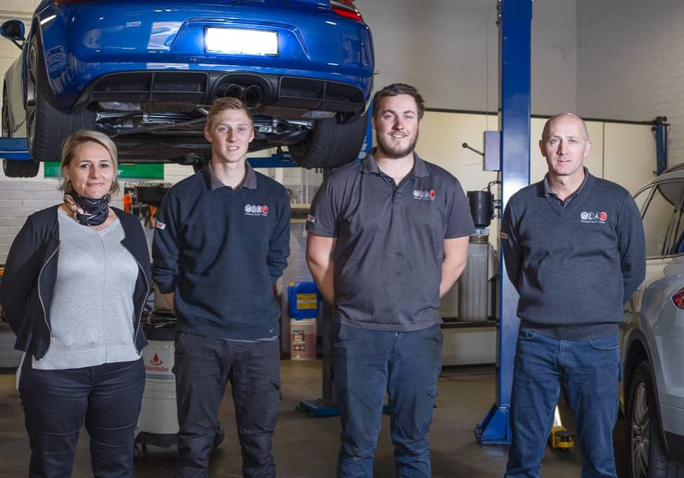 West Leederville Autos Team